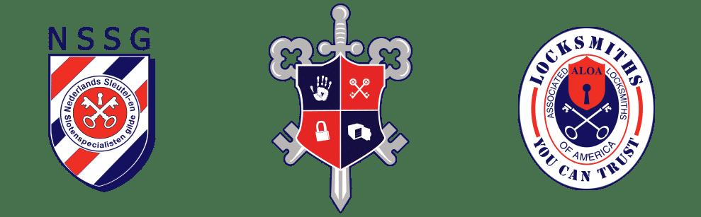 Erkende Slotenmaker Logo's