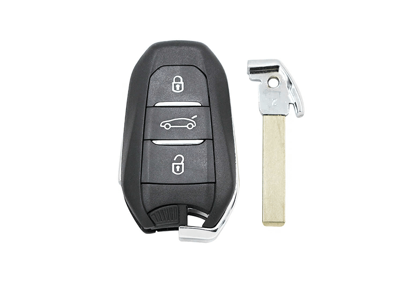 Citroen-sleutel-bijmaken-keyless-entry-smart-remote
